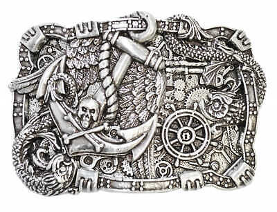 Clasp Buckle Belt-Buckle on the Sea INTERCHANGEABLE CLASP DESIGNER BUCKLE