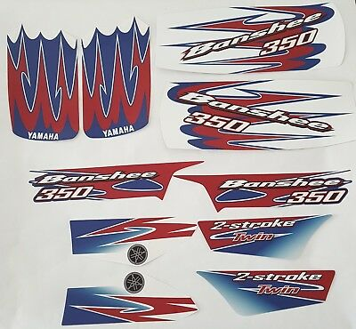 Kit Graphics YAMAHA BANSHEE 350, KIT decals, stickers, GRAPHICS