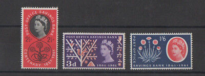 Post Office Savings Bank Centenary 1961 Stamps