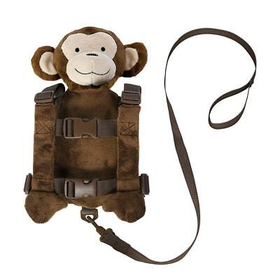Kids Toddler Anti-Lost Harness Safety Leash Walk Keeper Plush Backpack Child
