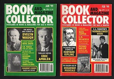 Book And Magazine Collector Ten Issues From 1999