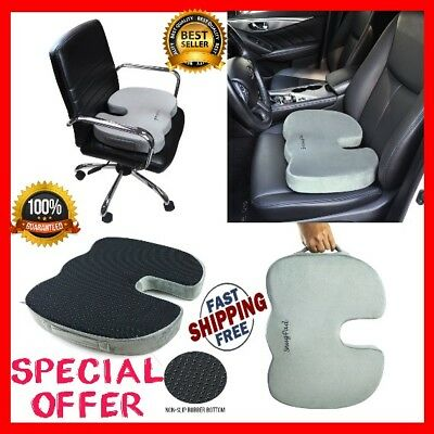 Memory Foam Seat Cushion Orthopedic Support Pillow for Back Pain Relief/Tailbone