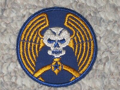 WW2 US Army Air Force 5th Bomb Group Patch WWII Cut Edge