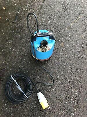 "Water Pump 110v Pond/flood Dirty Water Submersible Pump Tsurumi 2"" Gwo"