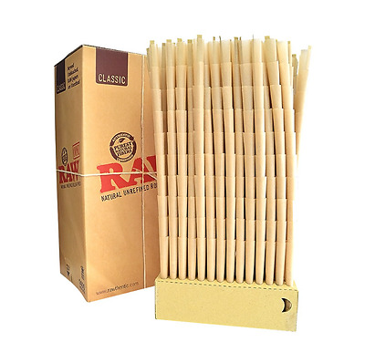 RAW Classic Pre-Rolled Cones 1400 Pack (King Size) with TSC Sticker