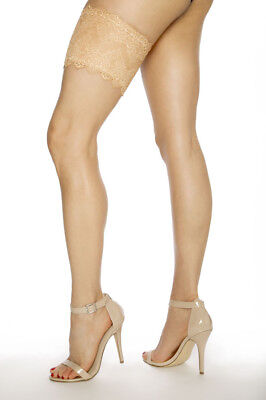 Girly Go Garter Beige/Nude Lace Stash Essentials Sizes 0-18 New Free shipping