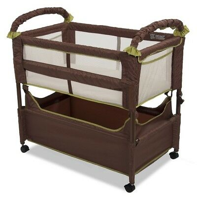 Baby Bassinet Sleeper Cosleeper Newborn Infant Bed Crib Bedside Wheels Portable