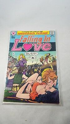 Falling in Love 118 1970 National Comics Woodstock Issue Classic Festival DC