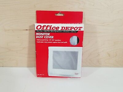 """Office Depot Monitor Dust Cover Universal fit for 19""""-22"""" Monitors"""