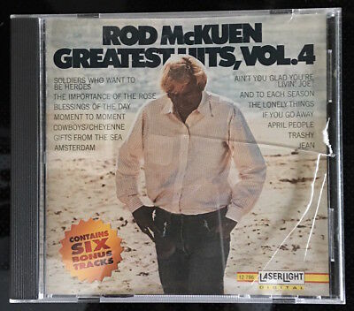 CD - Rod McKuen - Greatest Hits (Vol 4)
