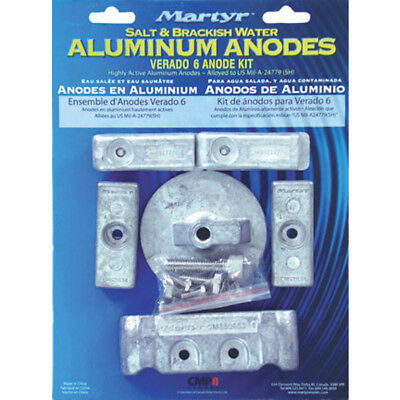 Mercury Verado 6 Inboard Anode Kit Aluminium Anode Kit for Mercury