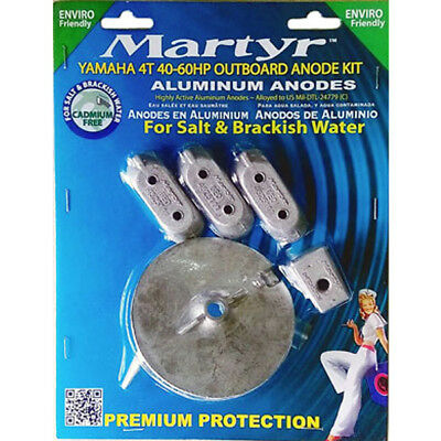 Yamaha Outboard Anode Kit 4T 40 HP-60 HP Aluminium Anode Kit for Yamaha Engines