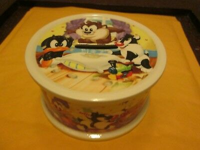 Wedgwood Baby Looney Tunes Piggy Bank New No Box Made In England