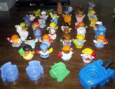 Bulk Lot 44 LITTLE PEOPLE Fisher Price  Animals Furniture