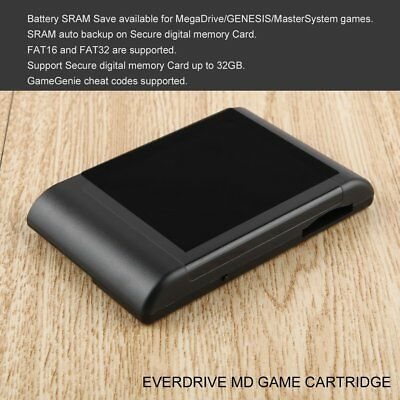 Professional For SEGA EverDrive MD X3 Console Cartridge With Memory Card EN