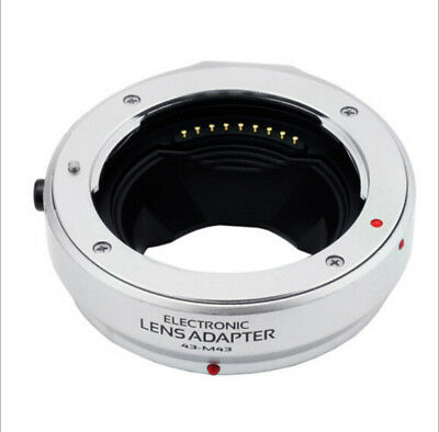 4/3 Auto Focus Ring to Micro 4/3 Electronic Lens Adapter For Olympus M4/3 Camera