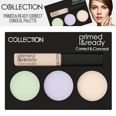 Collection Primer Ready Corrector & Concealer Palette Instant Colour Corrector