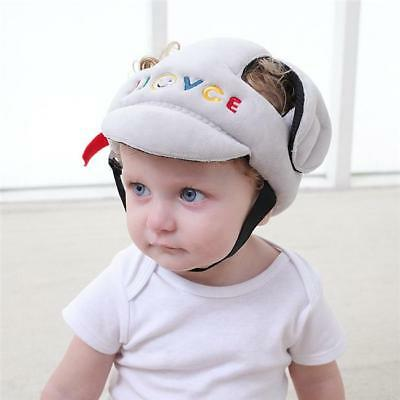 Infant Baby Toddler Safety Helmet Kids Head Protection Hat Walking Crawling LH
