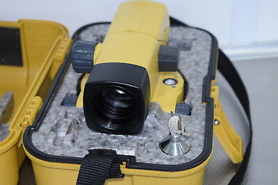 Topcon At-B4 Automatic Optical Level - 24 X Magnification - With Calibration