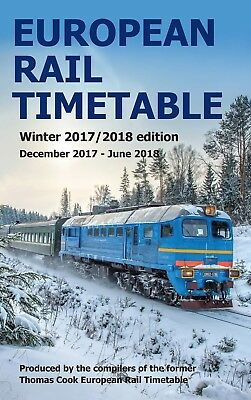 European Rail Timetable Winter 2017-2018 Edition