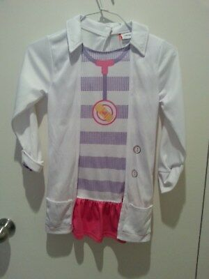 girls Doc mcStuffin dress up costume size 4-6