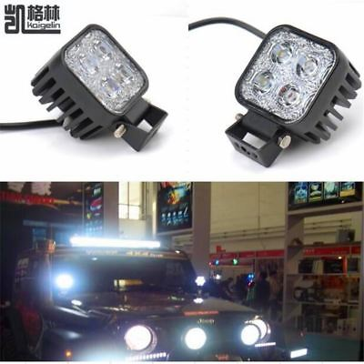2PCS 12W Car LED Offroad Work Light Bar for Jeep 4x4 4WD AWD SUV ATV Golf Cart 1