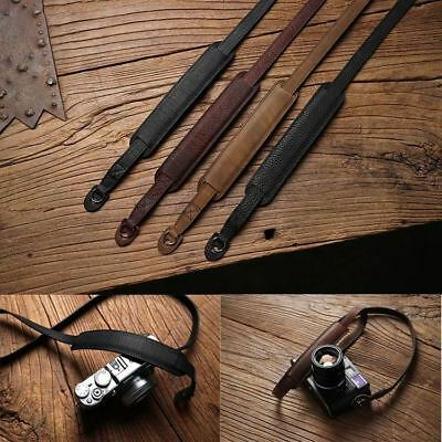 Handmade Genuine Leather Camera Strap Camera Shoulder Sling Belt