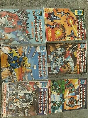 marvel uk transformers comic (1985/1986)