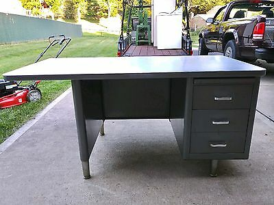 Mid-century Modern Industrial Design Office Desk- great design and quality