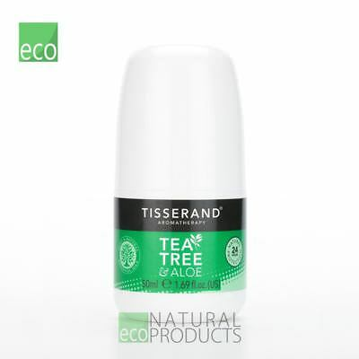 Tisserand Tea Tree & Aloe Natural 24 Hour Deodorant 50ml