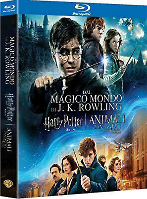 J.K. Rowling's Wizarding World 9-Film Collection Harry Potter (Blu-ray) NEW