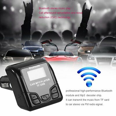 QSS-50 Bluetooth Car MP3 Audio Player with USB Charger LCD Display for Phones M9