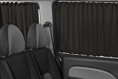 Enjoyable Mercedes New Sprinter Vw Crafter Window Curtains Set Black Bralicious Painted Fabric Chair Ideas Braliciousco