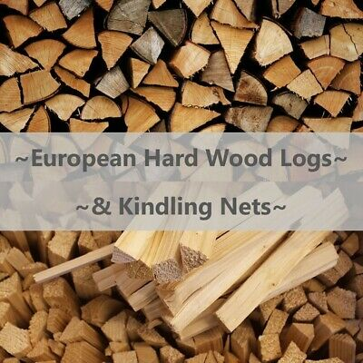 Quality Hard Wood Fire Logs & Kindling - Dried Firewood FREE DELIVERY