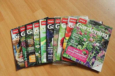 Which Gardening Magazines For 2013
