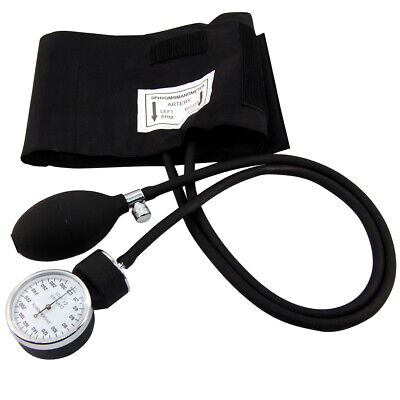 BP Monitor manual Professional NHS Aneroid Sphygmomanometer kit with bag