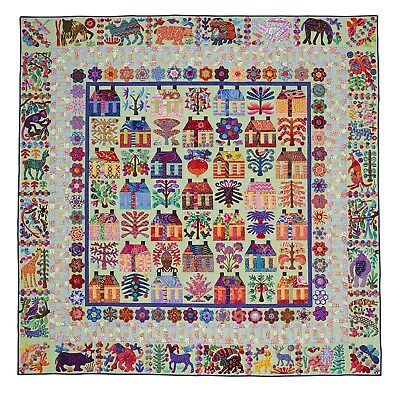 VILLAGE Applique Quilt Pattern by Kim McLean