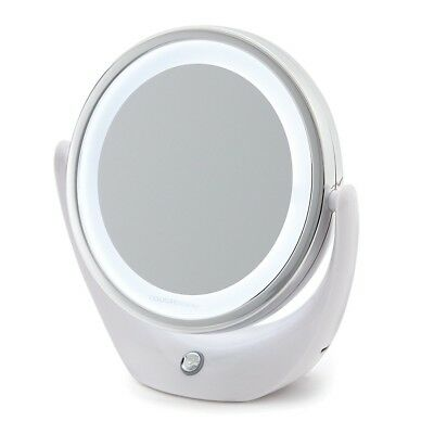 NEU B-WARE Touch Beauty Make-up Kosmetik Spiegel Kompaktspiegel mit LED Licht