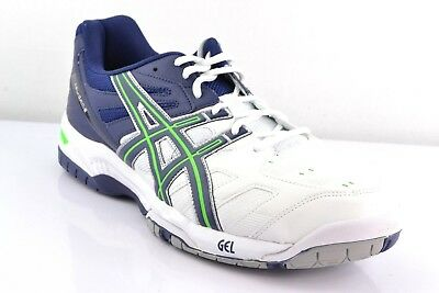 Da Donna ASICS GEL GAME 4 OC E357Y 0157 WHITE NAVY PINK Ladies Scarpe Da Ginnastica