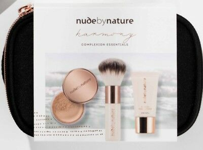 Nude By Nature Harmony Complexion Essentials Set in Medium.