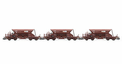 Arnold hn9703 TT - Set of 3 Self-Unloading Car of the Kirov Leipzig AG -