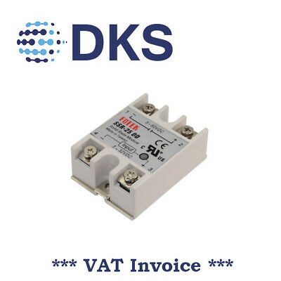 Solid State Relay Module SSR-25DD 25A /60V 3-32V DC Input 5-60VDC Output 000039
