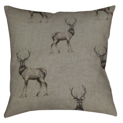 NEW DESIGNER handmade Deer  CUSHION COVER All size AVAILABLE
