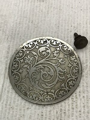 ANTIQUE SINGER TREADLE SEWING MACHINE REAR PLATE, Good Condition