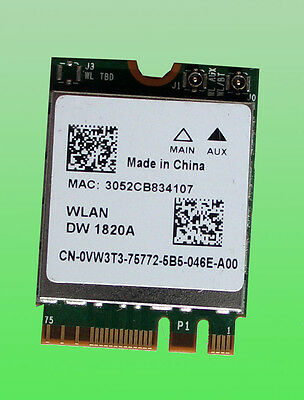Broadcom BCM94350ZAE 802.11AC 867Mbps Wireless DW-1820A Bluetooth 4.0 M.2 NGFF