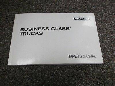 2003 Freightliner Business Class FL50 FL60 FL112 MB50 MB70 Owner Operator Manual