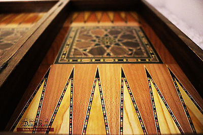 Wood backgammon-schach Board, or Chess Figurines or Backgammon Stones