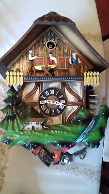 Black Forest Cuckoo Clock saw and chimes