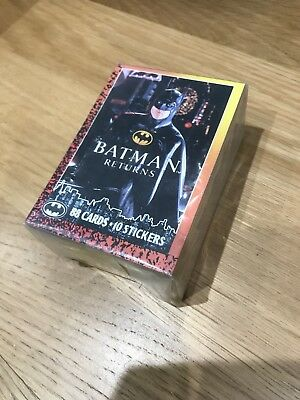 Topps BATMAN RETURNS 1992 Complete Set