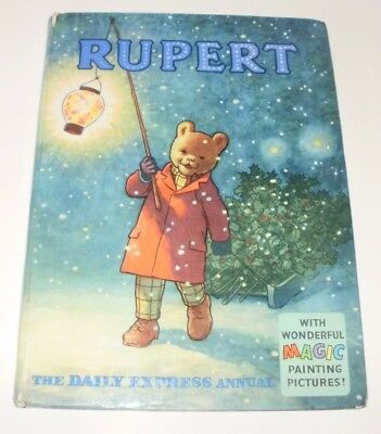 Rupert Daily Express 1960 Original Annual Rupert The Bear Unclipped, Uninscribed